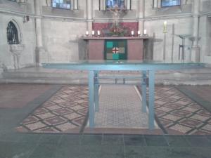 Wer wird künftig hinter dem Altar der Katharinenkirche stehen?