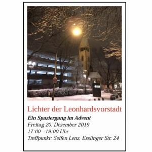 Lichter der Leonhardsvorstadt