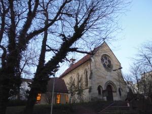 St. Katharina im Winter